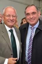 El Dr. Albino y el Ministro Sánchez Hidalgo