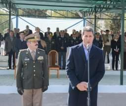 Saludo del gobernador Uñac y del Jefe de Unidad