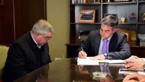 Firma del Convenio entre Ministerio de Salud y Municipio de Capital