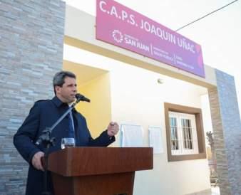 inauguración en Pocito