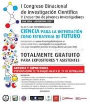 I Congreso Binacional de Investigación Científica Argentina–Chile y V Encuentro de Jóvenes Investigadores