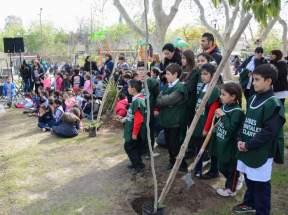 Participaron alumnos de los clubes ambientales