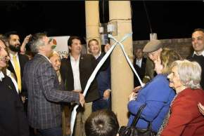 Inauguración de obras de repotenciación de alumbrado público de Trinidad