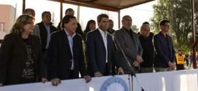 El gobernador Sergio Uñac saludó a las familias adjudicatarias