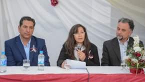La directora del establecimiento, Patricia Cabrera, agradeció a las autoridades por las obras.