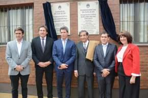 Inauguración del Juzgado de Paz de Angaco