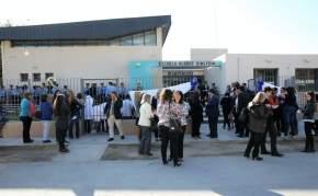 Inauguración de remodelaciones en la Escuela Albert Einstein, en el departamento Sarmiento