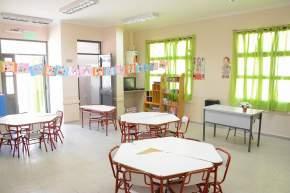 Nuevas salas en la Escuela Albert Einstein, en el departamento Sarmiento