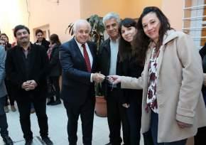 El vicegobernador Marcelo Lima entrega las llaves de la movilidad 0Km para reforzar actividades de la Linea 102