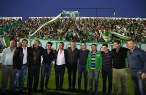 Inauguraron ampliaciones del estadio de Sportivo Desamparados