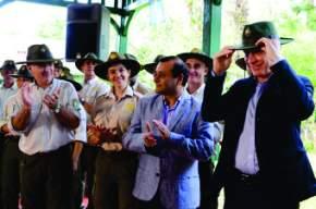 Macri recorrió el Parque Nacional Iguazú