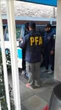 Realizaron la pesquisa efectivos de la Delegación San Juan de la Policía Federal