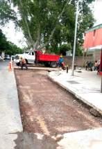 Obra en calle La Pampa y reparación losas de hormigón en varias arterias de la ciudad