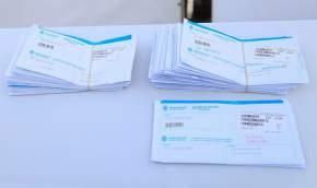 Entregaron 574 pares de anteojos y Documentos de Identidad