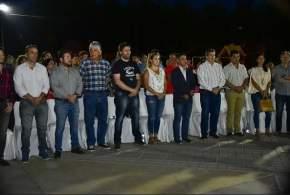 Inauguraron refacciones y nuevas obras en la Plaza Distéfano