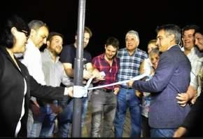 Inauguraron refacciones y diversas obras en la Plaza Distéfano