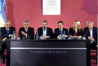 conferencia de prensa por acuerdo