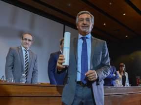 Roberto Basualdo, senador nacional electo