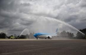 Aerolíneas es la primera línea aérea de América Latina en recibir el 737 MAX 8