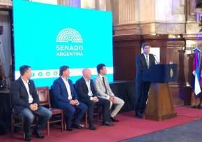El Senado distinguió a San Juan por impulsar al deporte como política de Estado