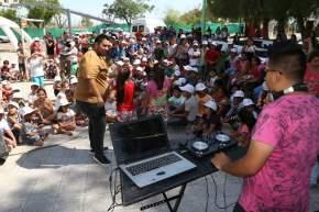 Música en la apertura de las Colonias de Verano 2018 en San Juan